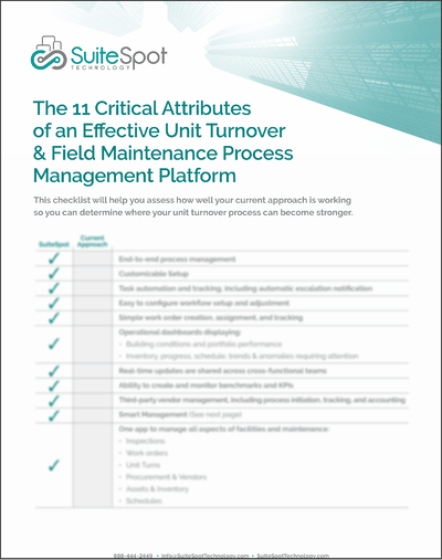 Multifamily_Operations_Process Management Checklist